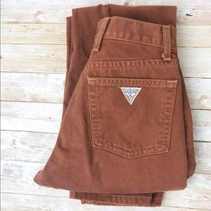Guess Vintage High Waisted Straight Leg Jeans